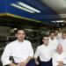 Michelin Star Chef Dieter Koshina with his team